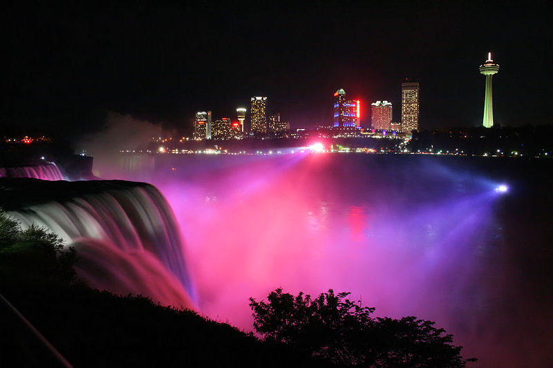 Niagara Falls.Photo by Sujit kumar via Wikimedia Commons