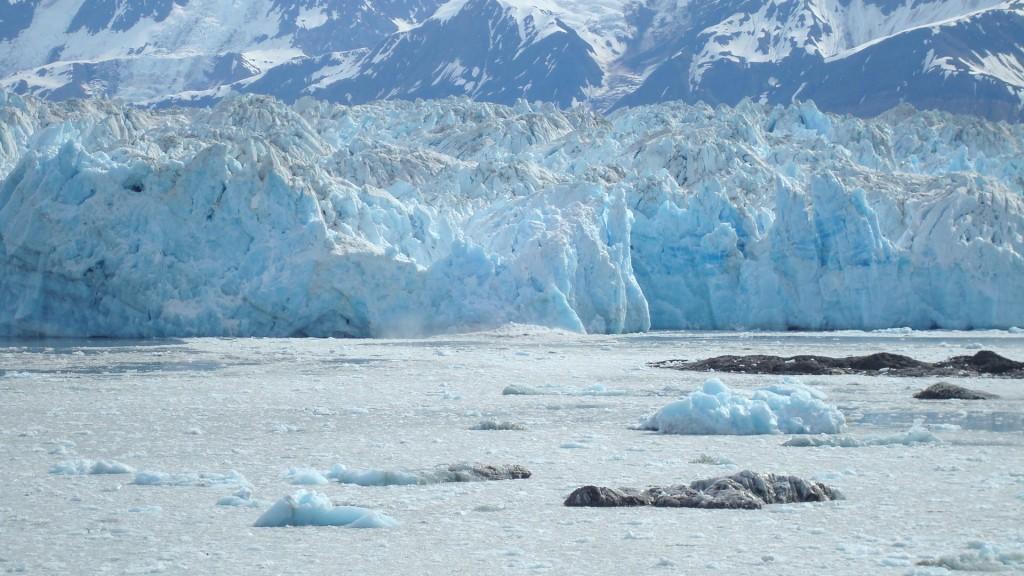 Hubbard Glacier - Breaking Ice