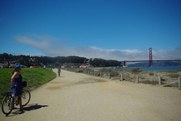 San Francisco by bicycle