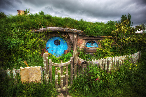 Photo of Hobbiton by Daniel Peckham via Flickr