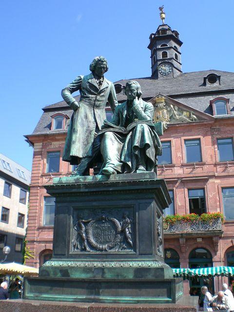 Brothers Grimm monument - Hanau
