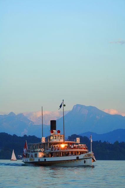 Schifffahrt Vierwaldstaettersee
