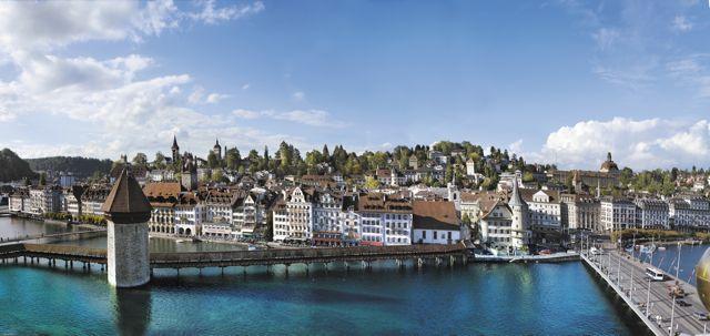 Die Luzerner Altstadt Old Town, Lucerne