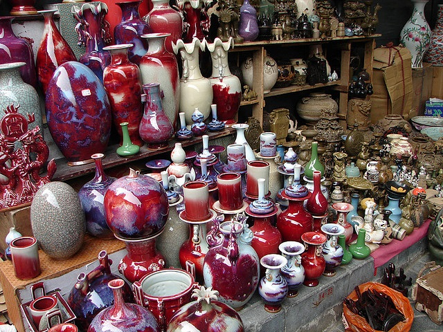 Goods at the Panjiayuan Flea Market