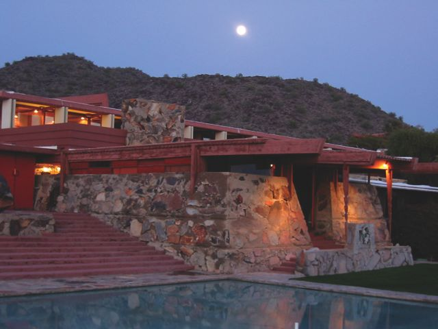 Taliesin West Night