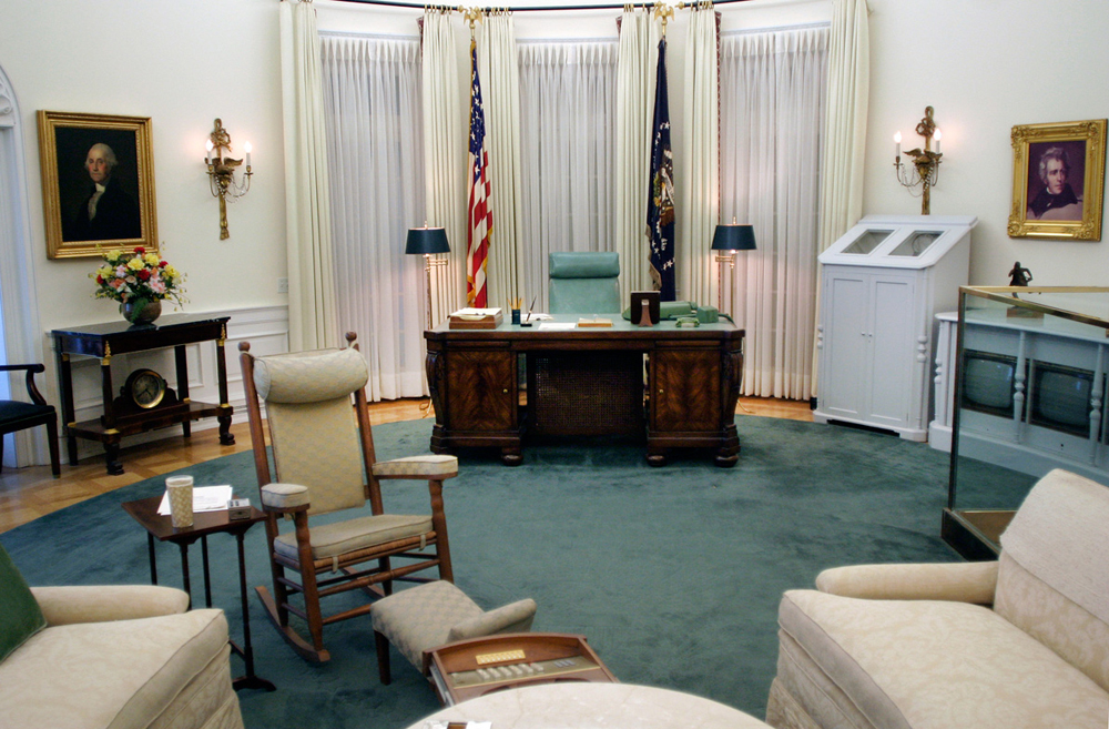 Replica of LBJ's Oval Office, LBJ Library