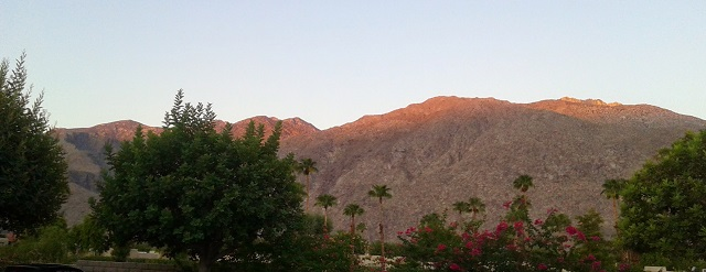 Palm Springs beautiful mountains