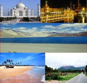 5 places to visit in India