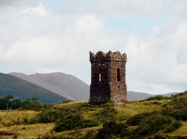 Ancient Tower along the Wild Atlantic Way