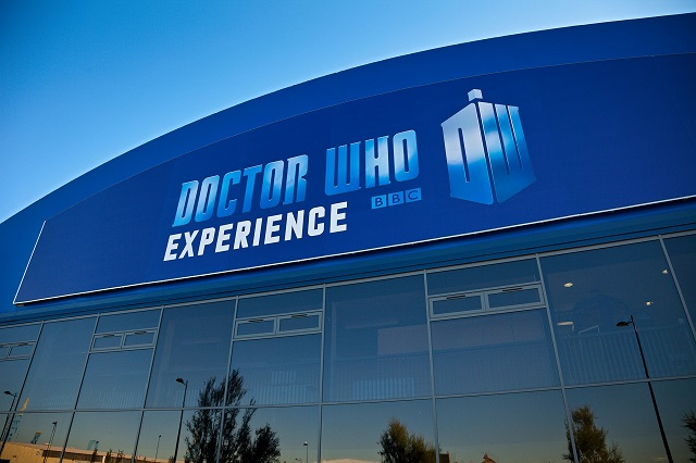 Doctor Who Experience Exterior view Porth Teigr Cardiff Bay South Tourist Attractions