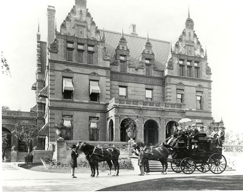 Pabst Mansion- old days