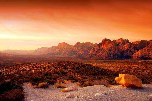 Red Rock Canyon, Credit citydata
